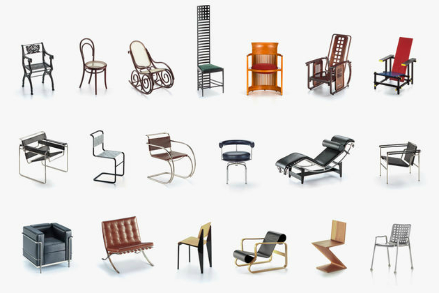 Chaise Design Miniature Miniatures Collection 1 By Vitra Design Museum For Vitra