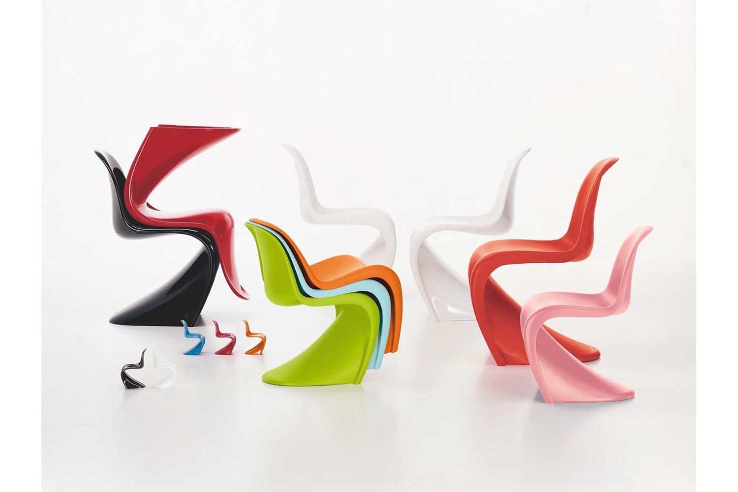 Pantone Chair Panton Chair By Verner Panton For Vitra Space Furniture