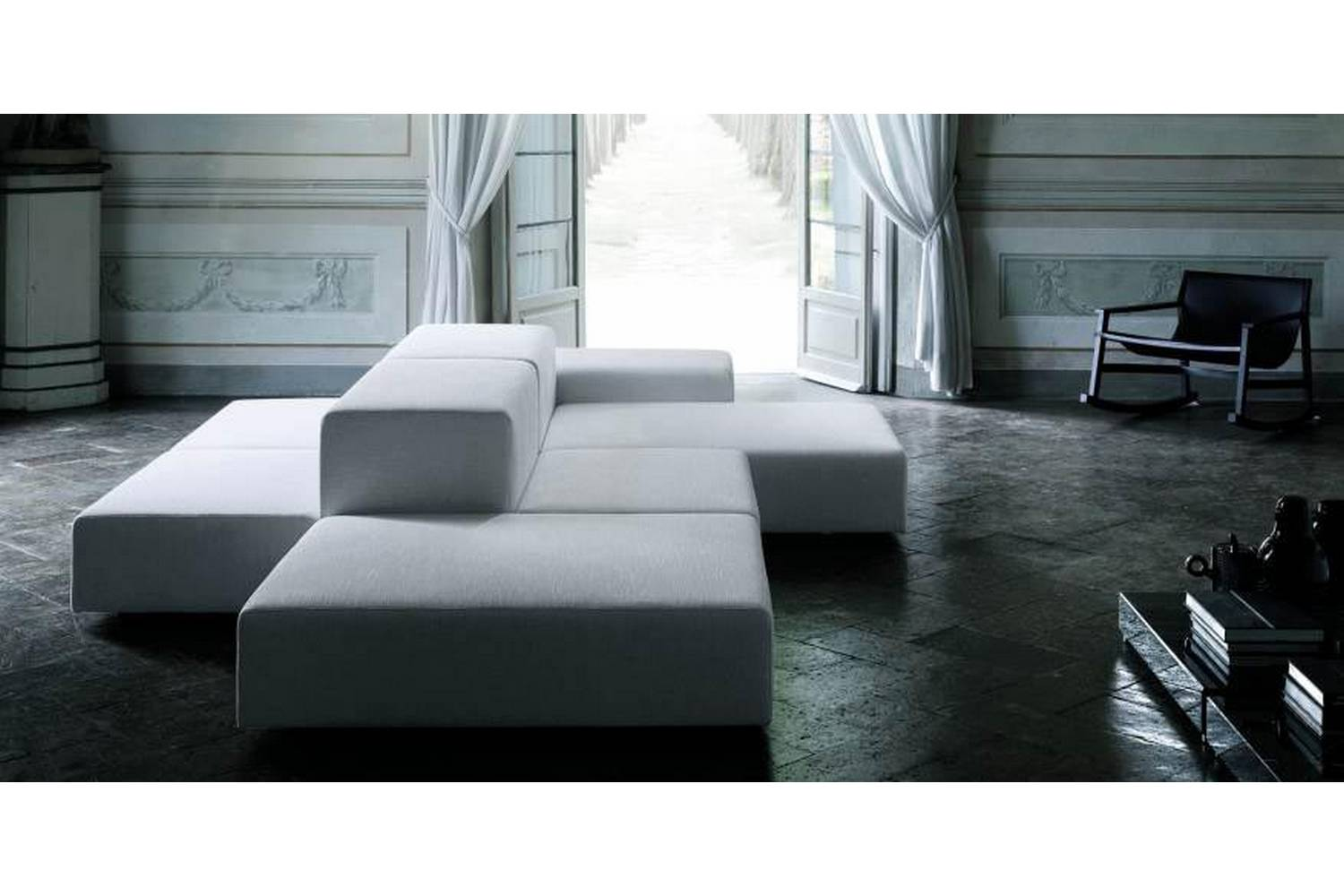Living Divani The Wall Sofa Extra Wall Sofa By Piero Lissoni For Living Divani Space Furniture