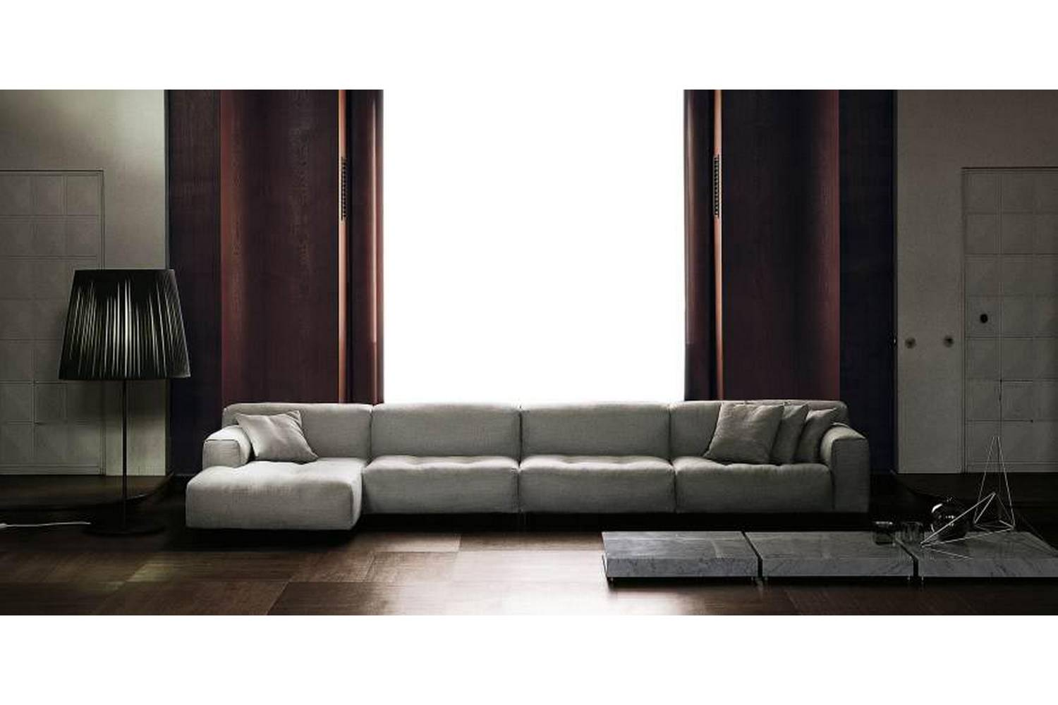 Living Divani The Wall Sofa Softwall Sofa By Piero Lissoni For Living Divani Space Furniture