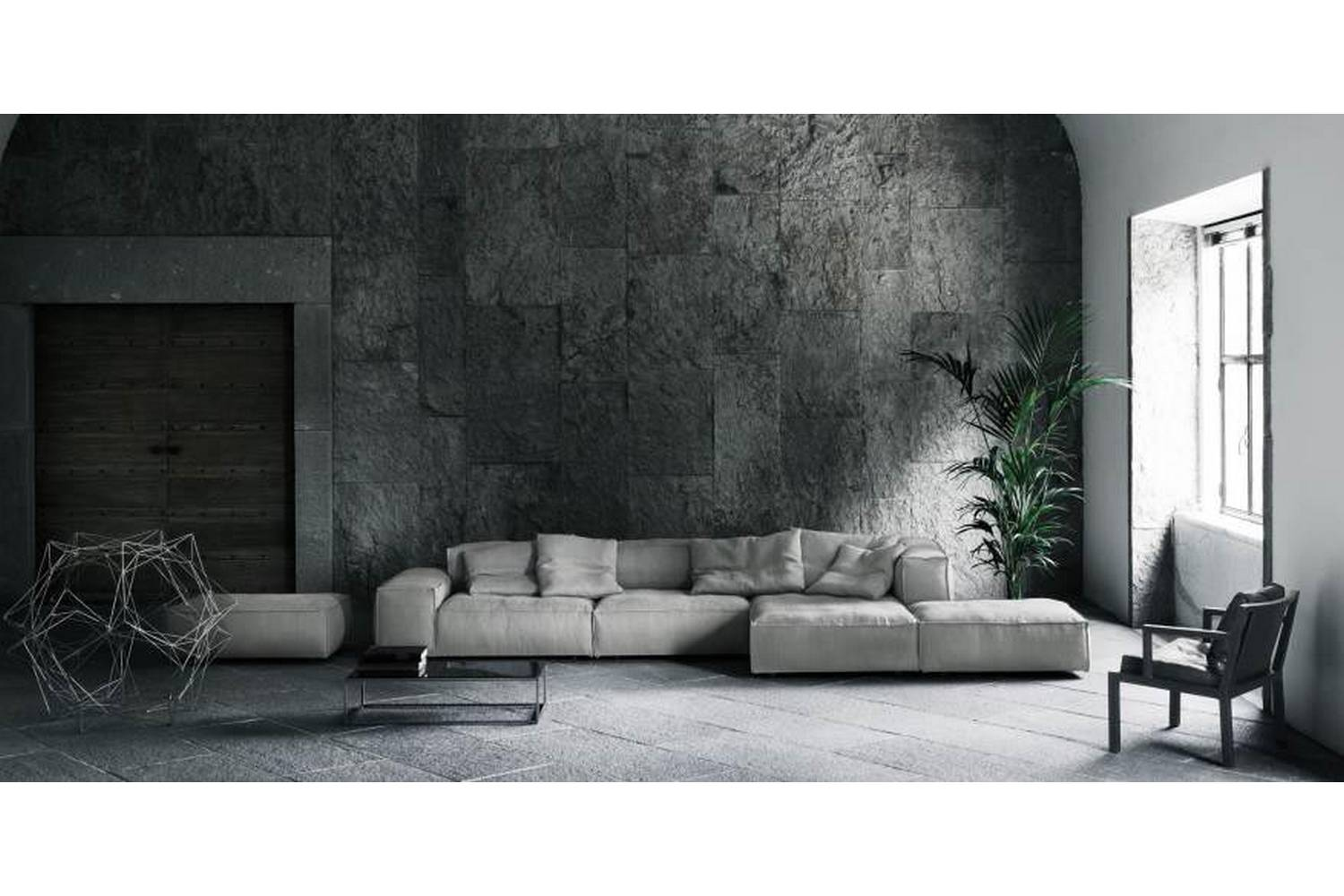 Living Divani The Wall Sofa Neowall Sofa By Piero Lissoni For Living Divani Space Furniture