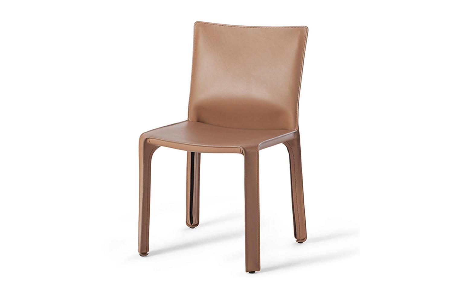 412 Cab Chair By Mario Bellini For Cassina Space Furniture