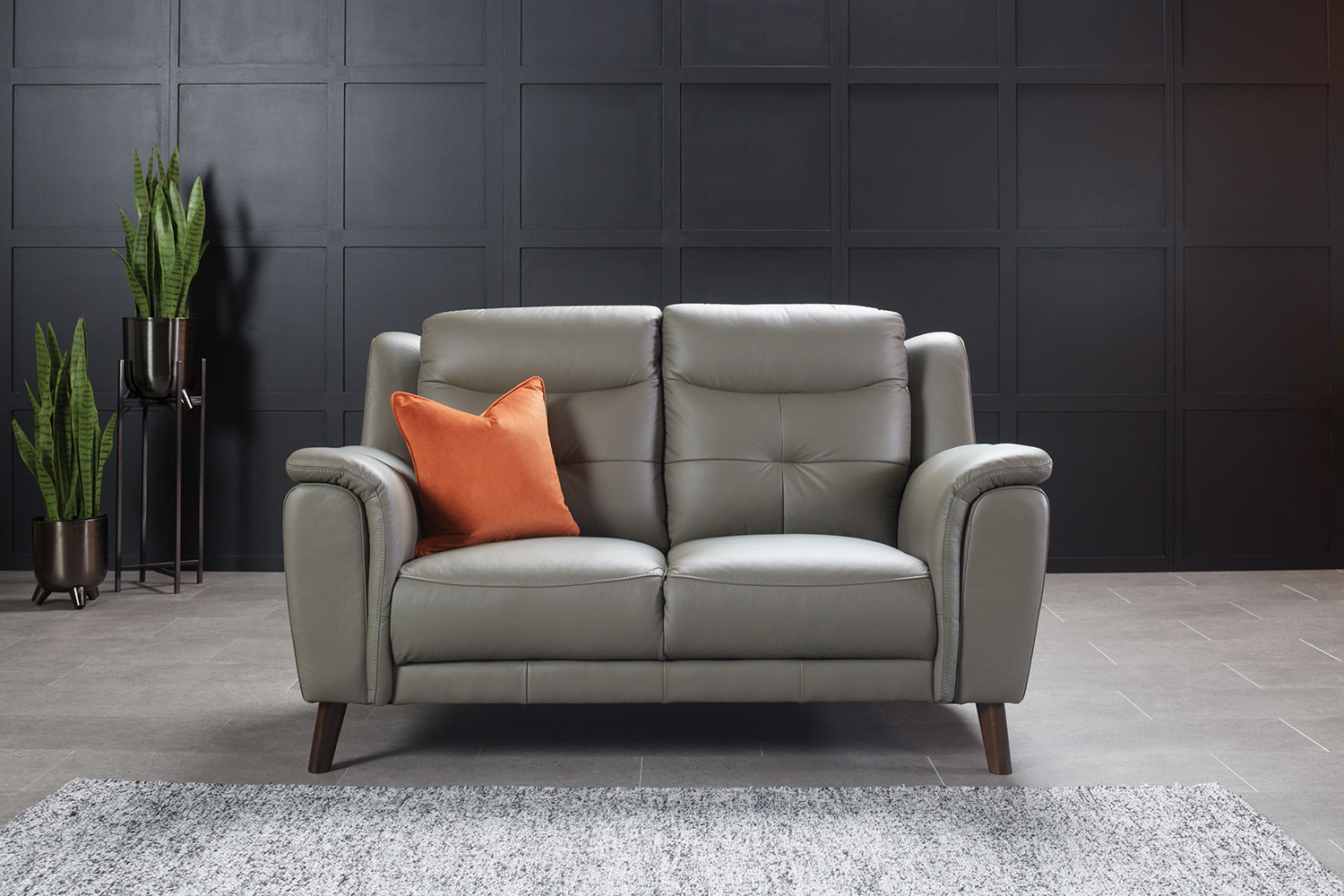 Georgia 2 Seater Leather Sofa By Vivin Harvey Norman New Zealand