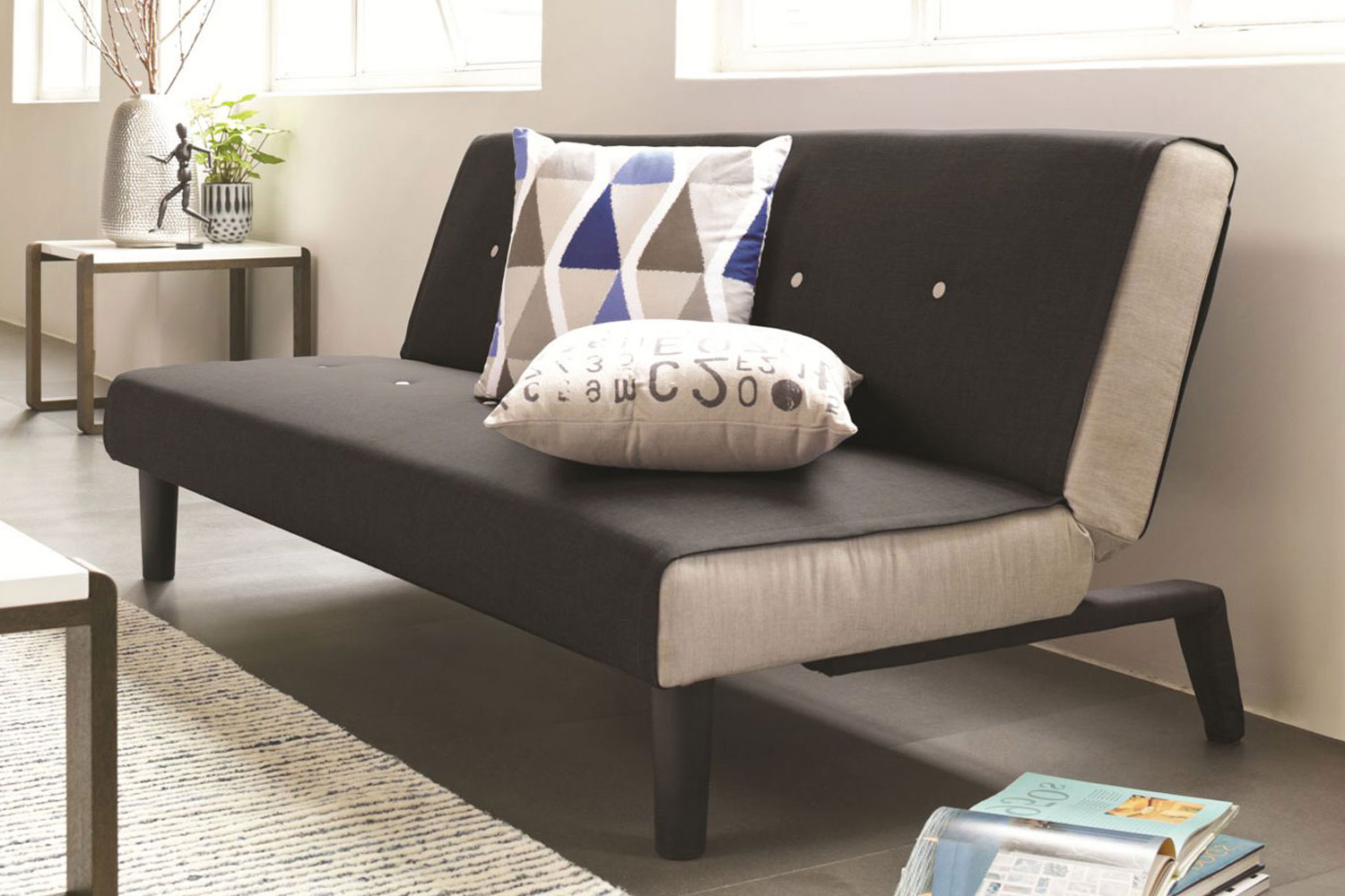 Oslo Ecksofa Oslo Sofa Bed Black