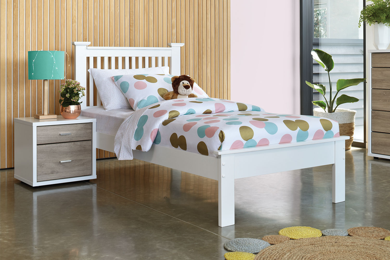 King Single Bed With Drawers Aston King Single Bed Frame By Nero Furniture