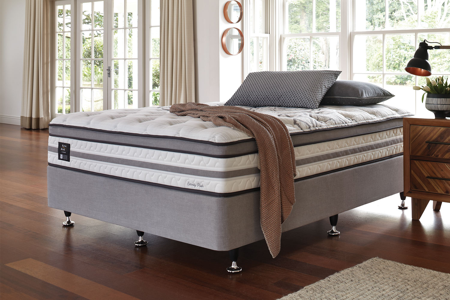 Long Single Bed Eternity Plush Long Single Bed By King Koil