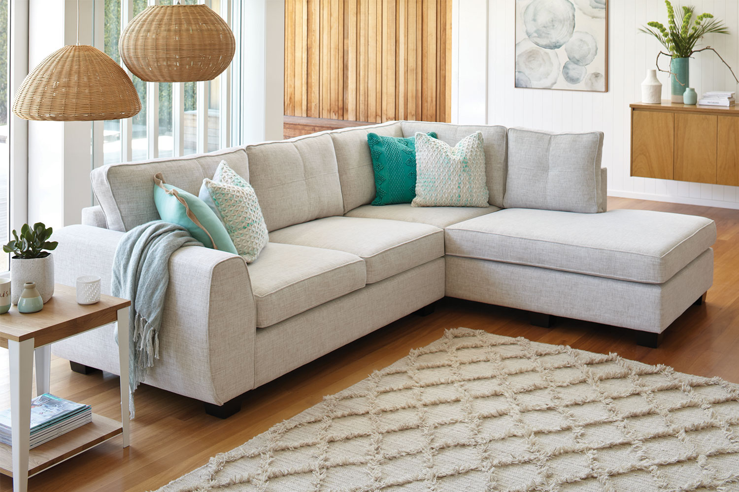 Sofa Lounge Nz Albany 4 Seater Fabric Sofa With Chaise By White Rose