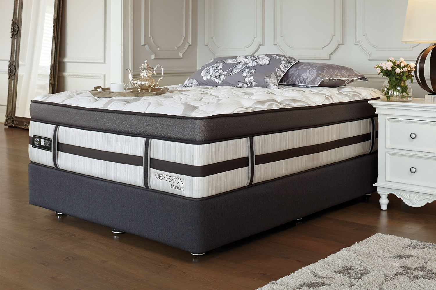 Long Single Bed Obsession Medium Long Single Bed By King Koil