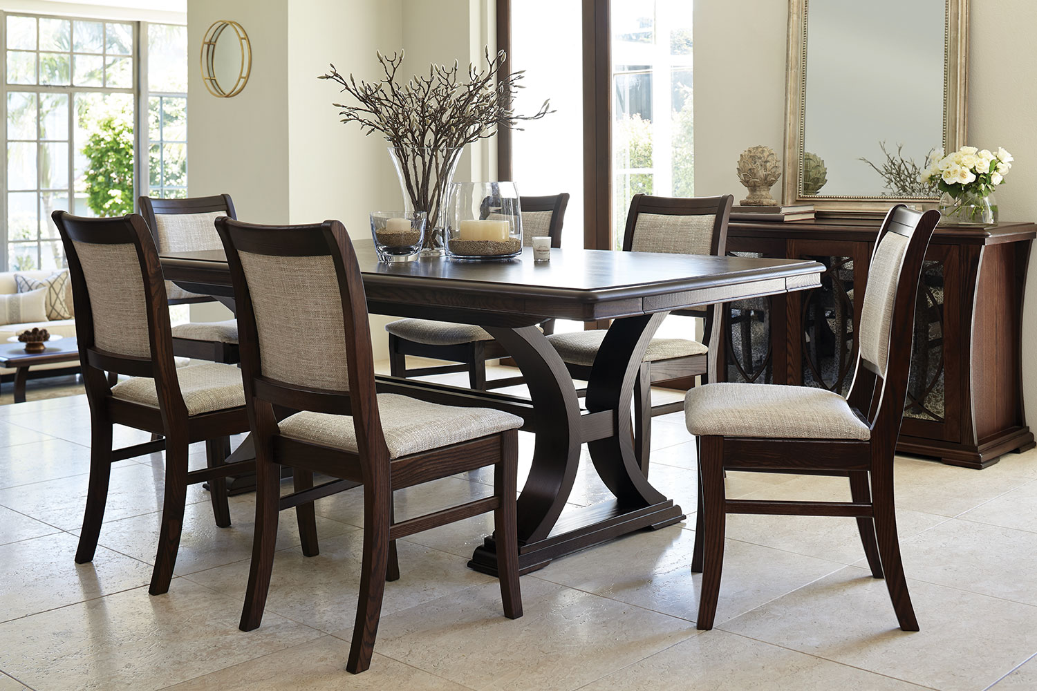 Table Luxe Vienna Luxe Dining Table By Sorenson Furniture