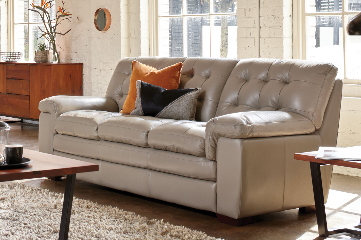 Leather Sofa La Z Boy Cullen 2 Piece Leather Lounge Suite By La Z Boy