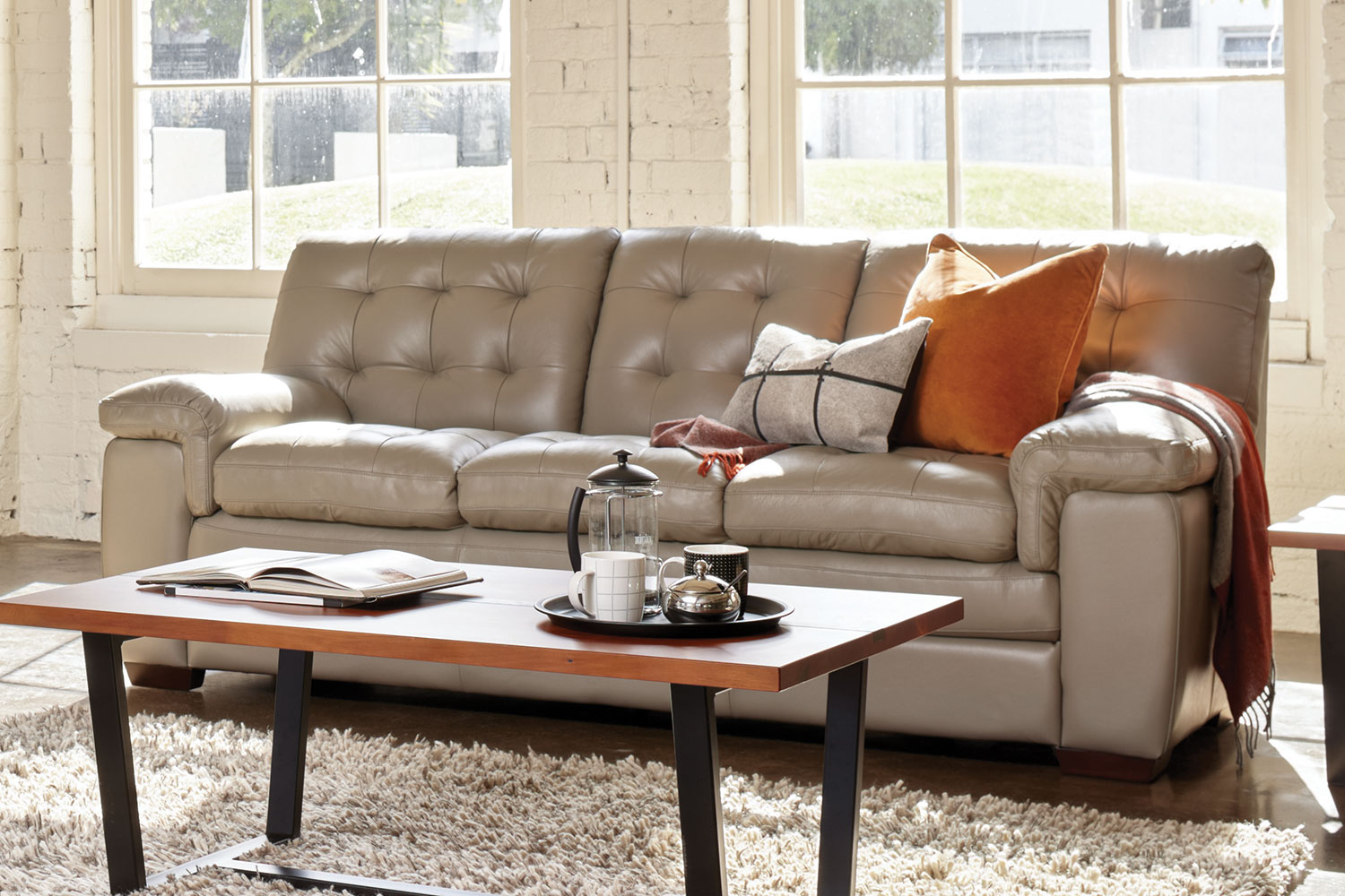 Leather Sofa La Z Boy Cullen 3 Seater Leather Sofa By La Z Boy