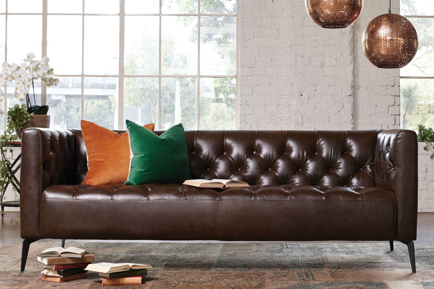 Leather Sofa New Zealand Canelli 3 Seater Leather Sofa By Debonaire Furniture