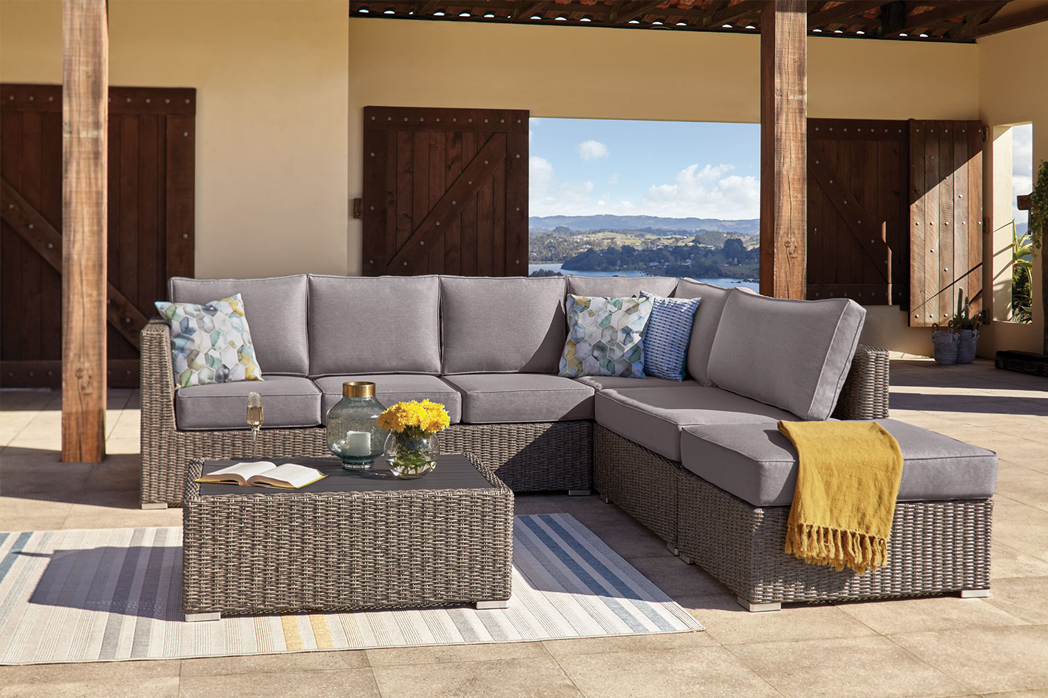 Outdoor Lounge Nz Mercedes Outdoor Corner Lounge Setting