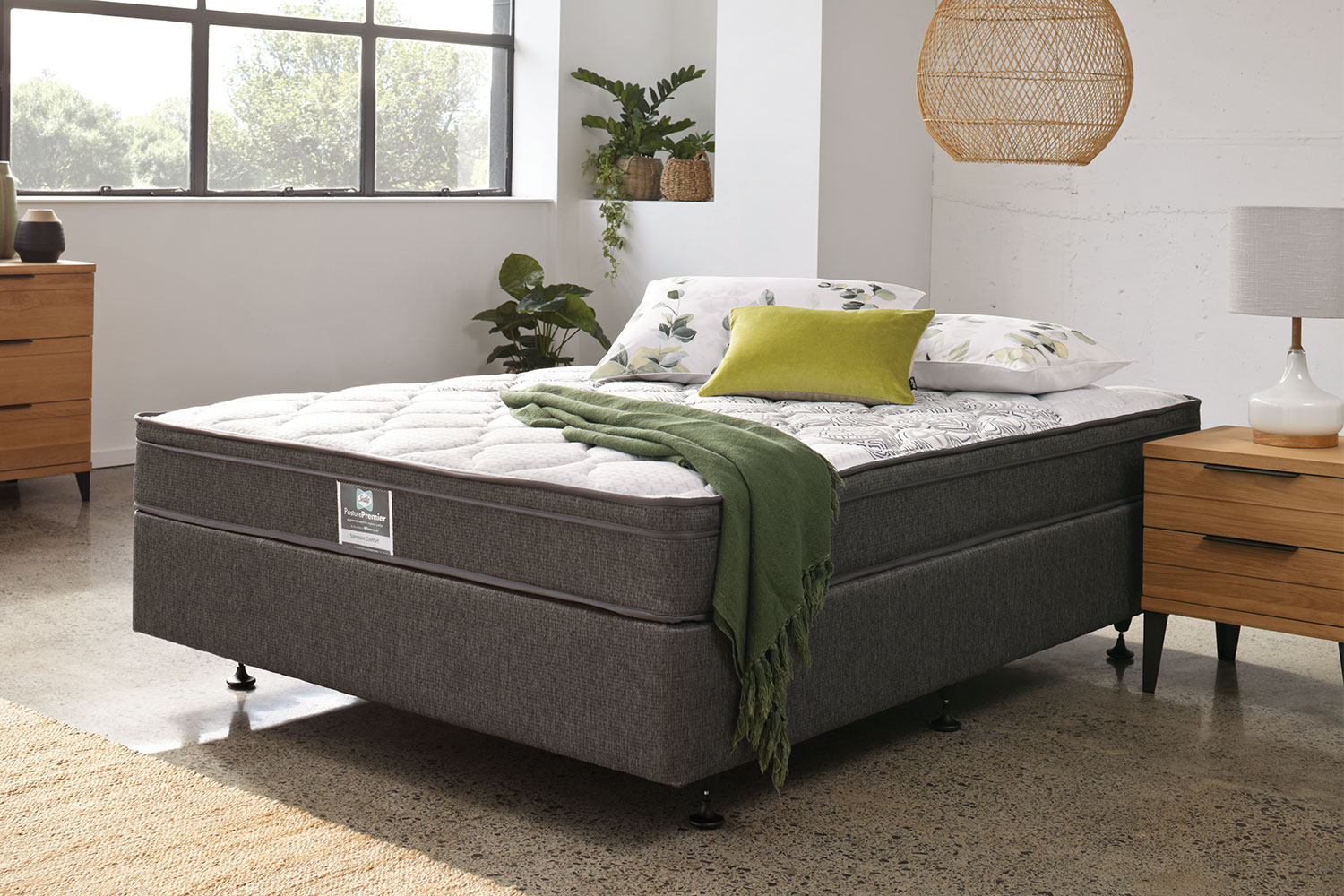 Long Single Bed Spinecare Comfort Long Single Bed By Sealy