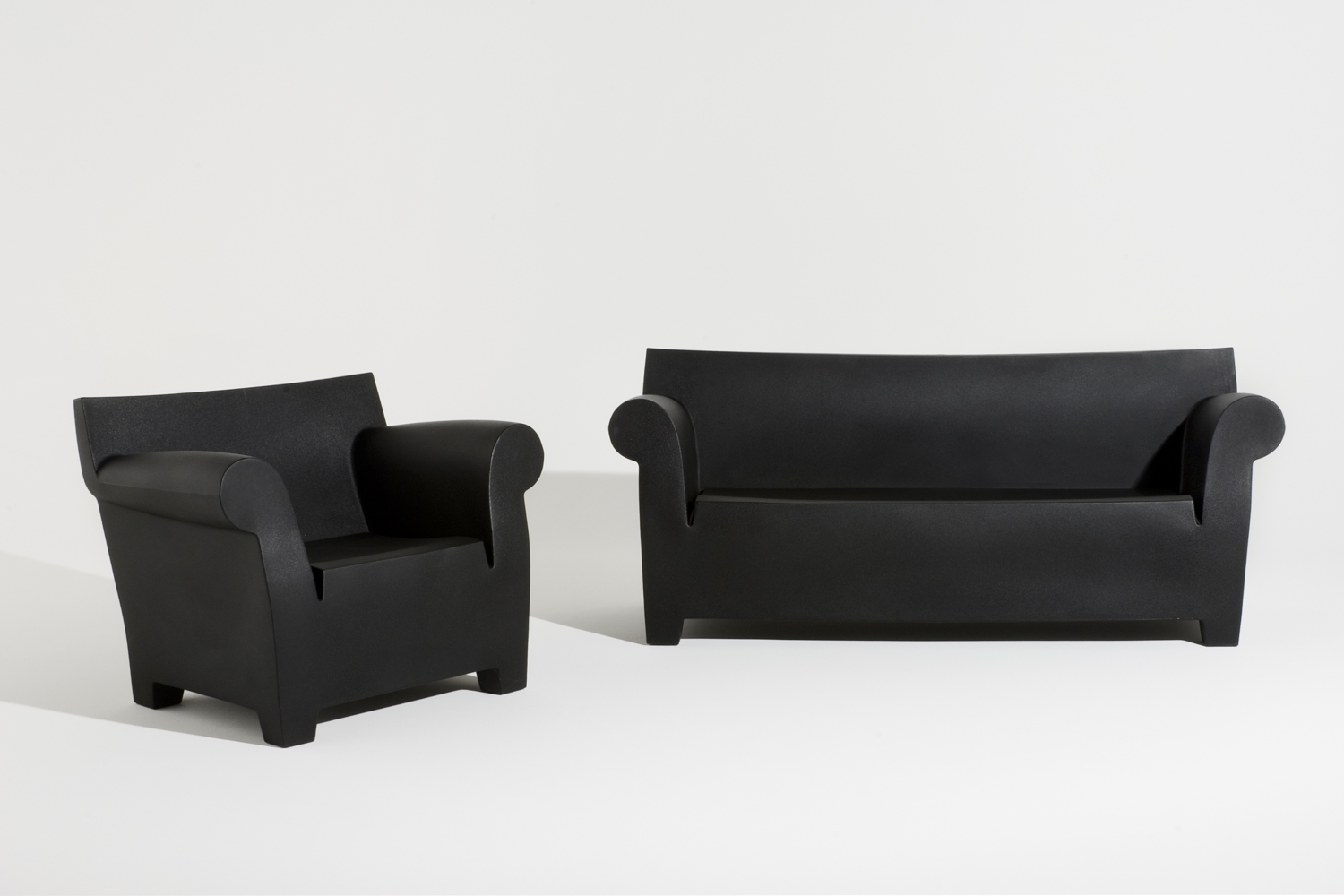 Kartell Sofa Bubble Club Sofa And Armchair By Philippe Starck For Kartell