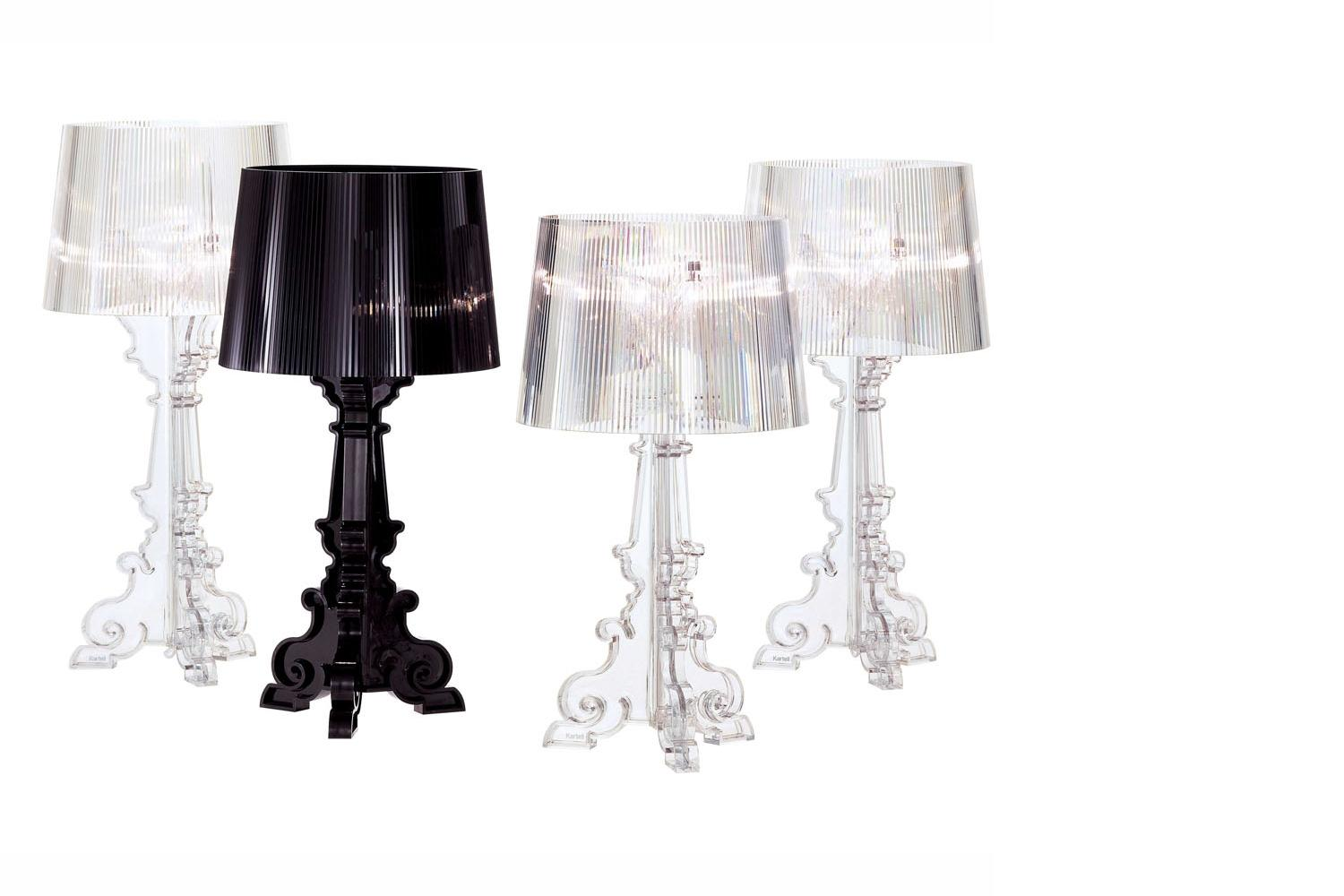 Lamp Kartell Bourgie Table Lamp By Ferruccio Laviani For Kartell Space Furniture