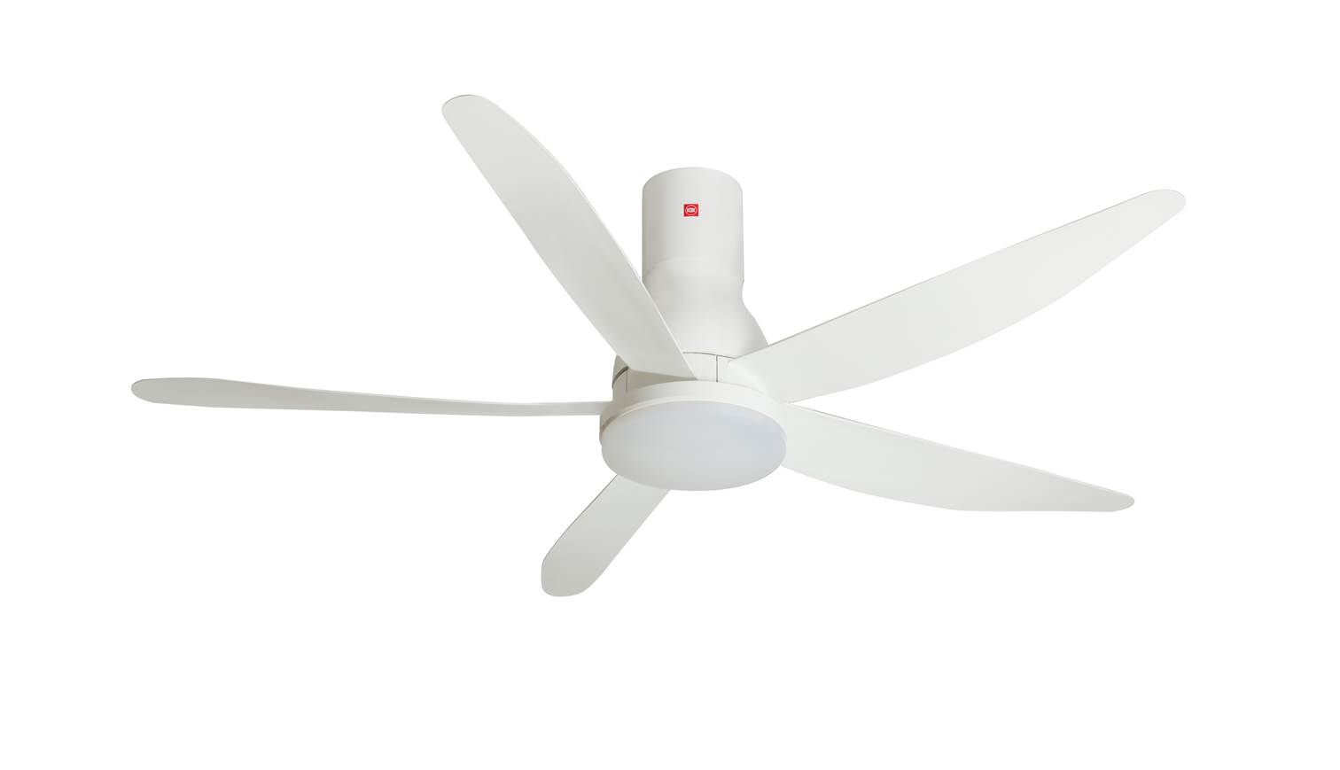 Long Blade Ceiling Fan Kdk U60fwl 150cm Long Rod Ceiling Fan White Harvey