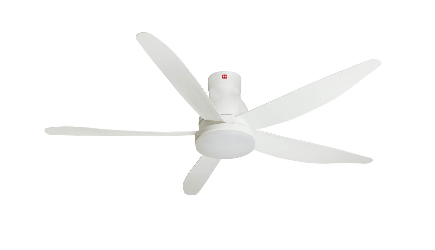 Long Blade Ceiling Fan Kdk U60fws 150cm Short Rod Ceiling Fan White Harvey