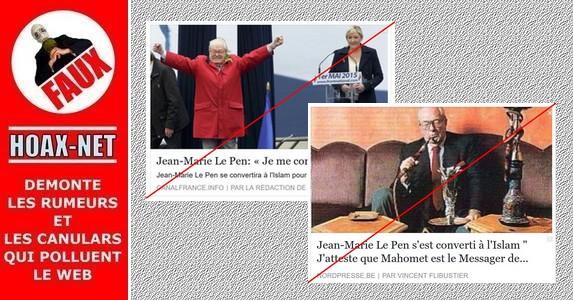 Vous en doutiez vraiment ? Non, Jean-Marie Le Pen ne se convertira pas à l