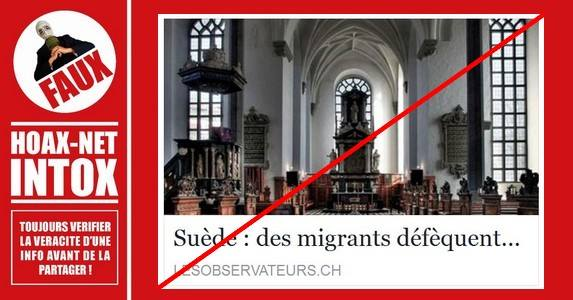 Non, des migrants n
