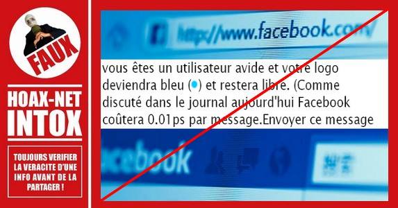 NON les messages envoyés à vos amis Facebook ne seront pas payants