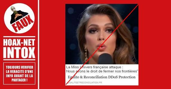 Miss Univers engagée pour l