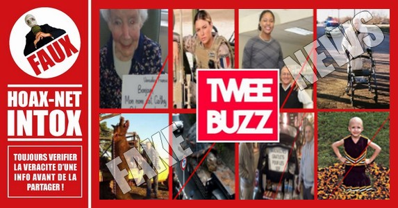 TweeBuzz, le pourvoyeur de Fake News par excellence.