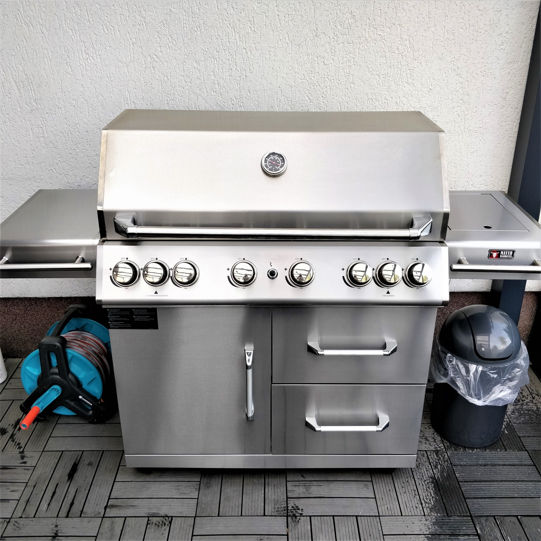 Zunda Outdoor Küche Das Monster Zunda Mgg362 Von Mayer Barbecue Hobby Griller De