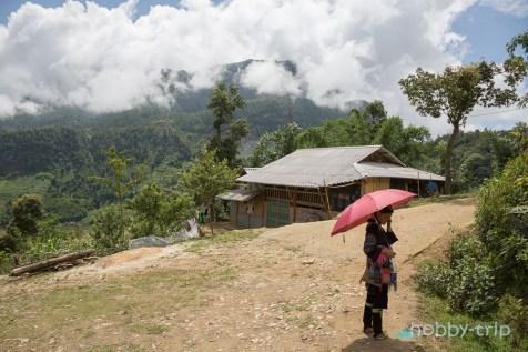 По пътищата в SAPA - Виетнам