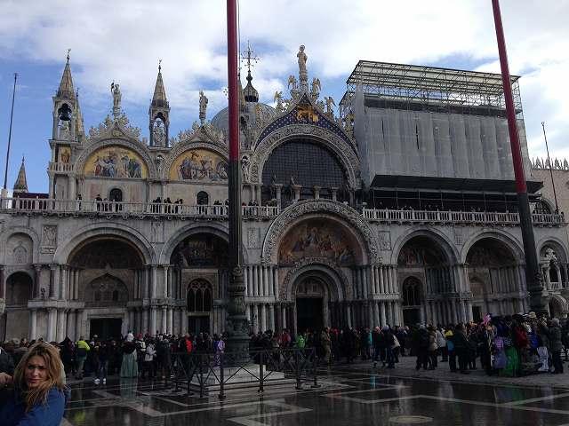 ヴェネツィア観光サンタルチア駅からサンマルコ寺院までお散歩⑥