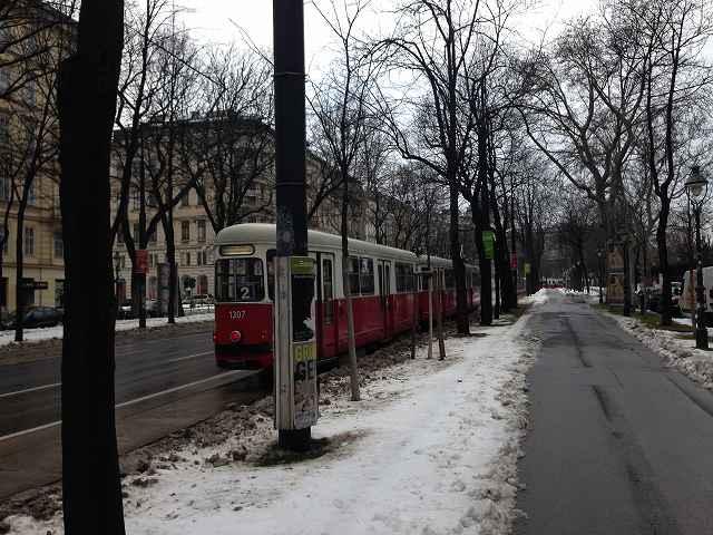 オーストリアウィーン観光まずは素敵な街並みを散策②