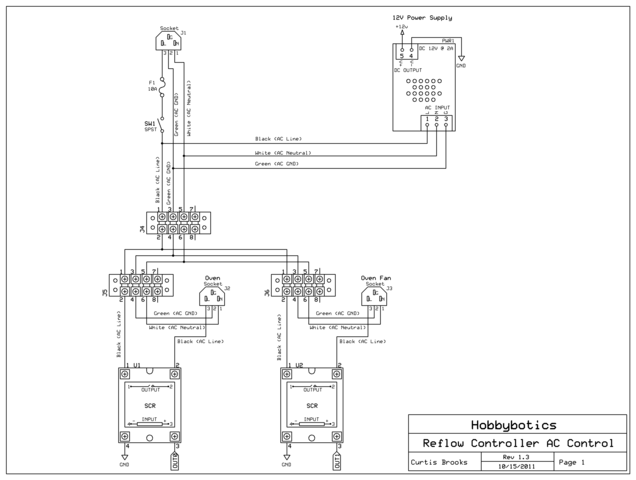 oven wiring diagram ssr