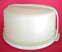 Vintage Extra Large Sturdy Tupperware Cake Pie Cupcake ...