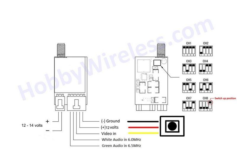fpv transmitter wiring diagram