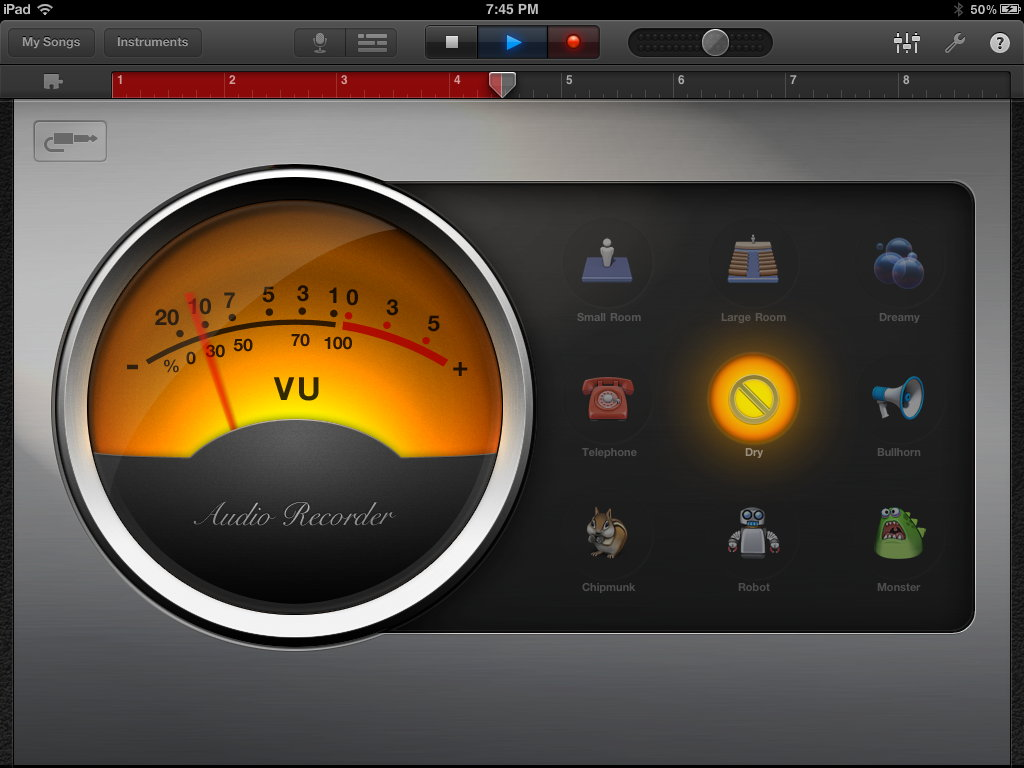 Garageband Metronome Mimsy An Ipad App For Simple Podcasting Does It Exist