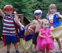 beau bday 5 cousins dressed up