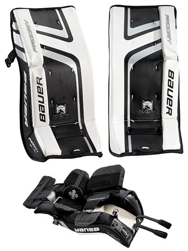 Bauer Knee Pads Bauer Prodigy 2.0 Youth Goalie Leg Pads | Hockey1