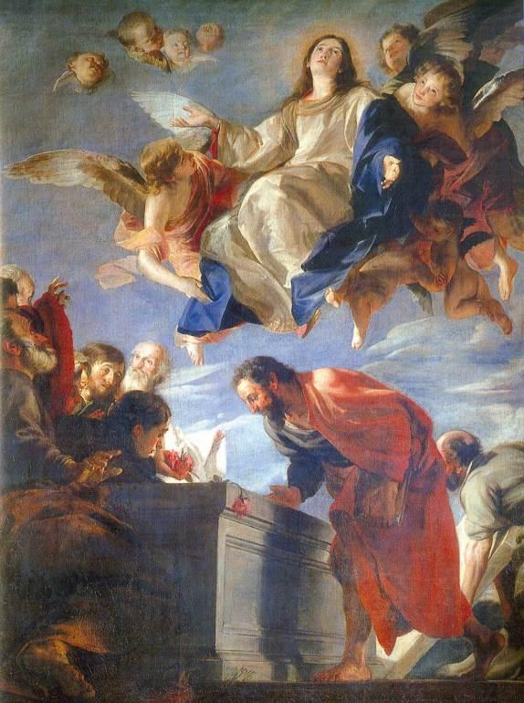 Resultado de imagen de asuncion de maria al cielo