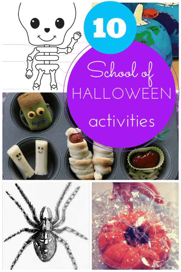10 educational halloween activities