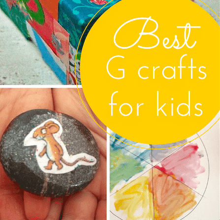 G crafts for kids