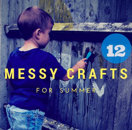 12 messy crafts