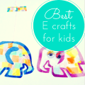 Best E craft ideas for kids thumbnail