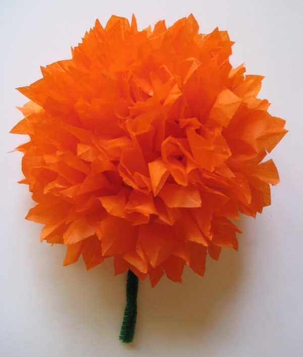 Tissue-paper-marigolds