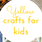 Yellow craft ideas (Y is for yellow)