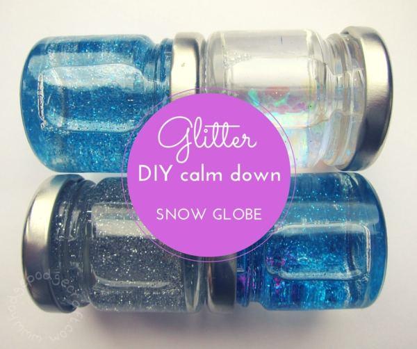 DIY mini glitter calm down jar FB WM