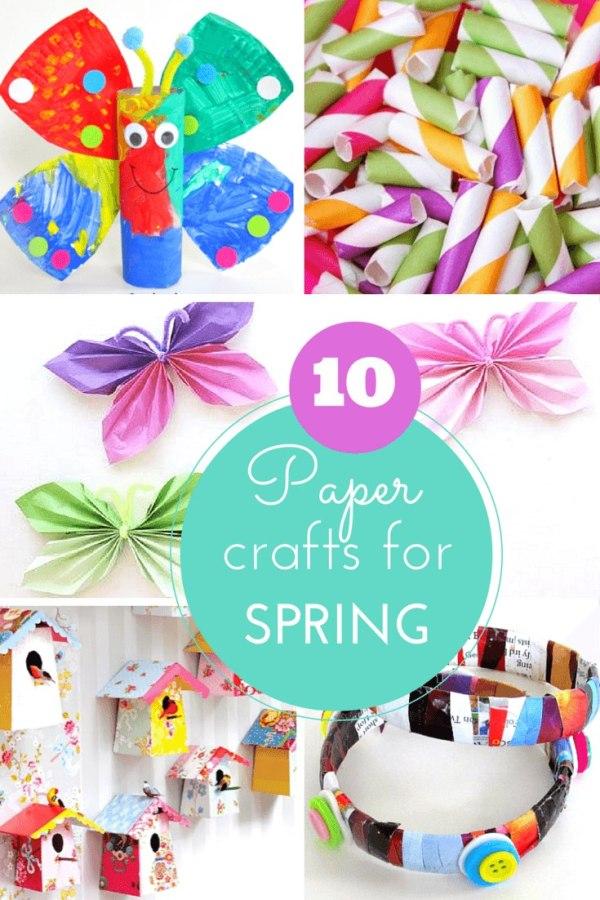 Paper crafts for Spring