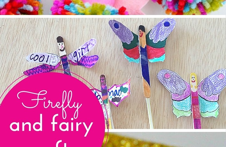 Firefly & fairy crafts