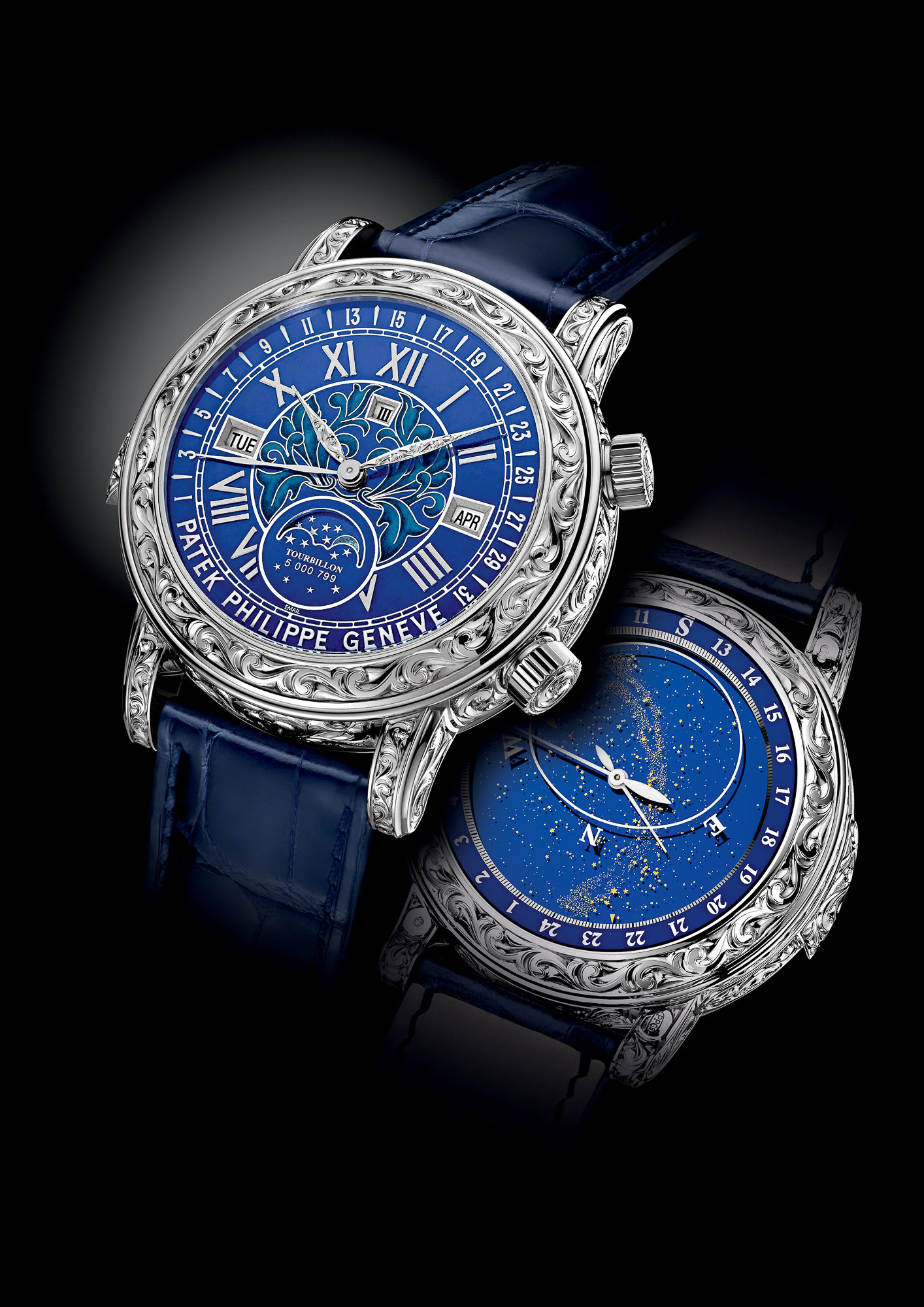 P Philippe Watch Introducing The Patek Philippe Sky Moon Tourbillon 6002g A New
