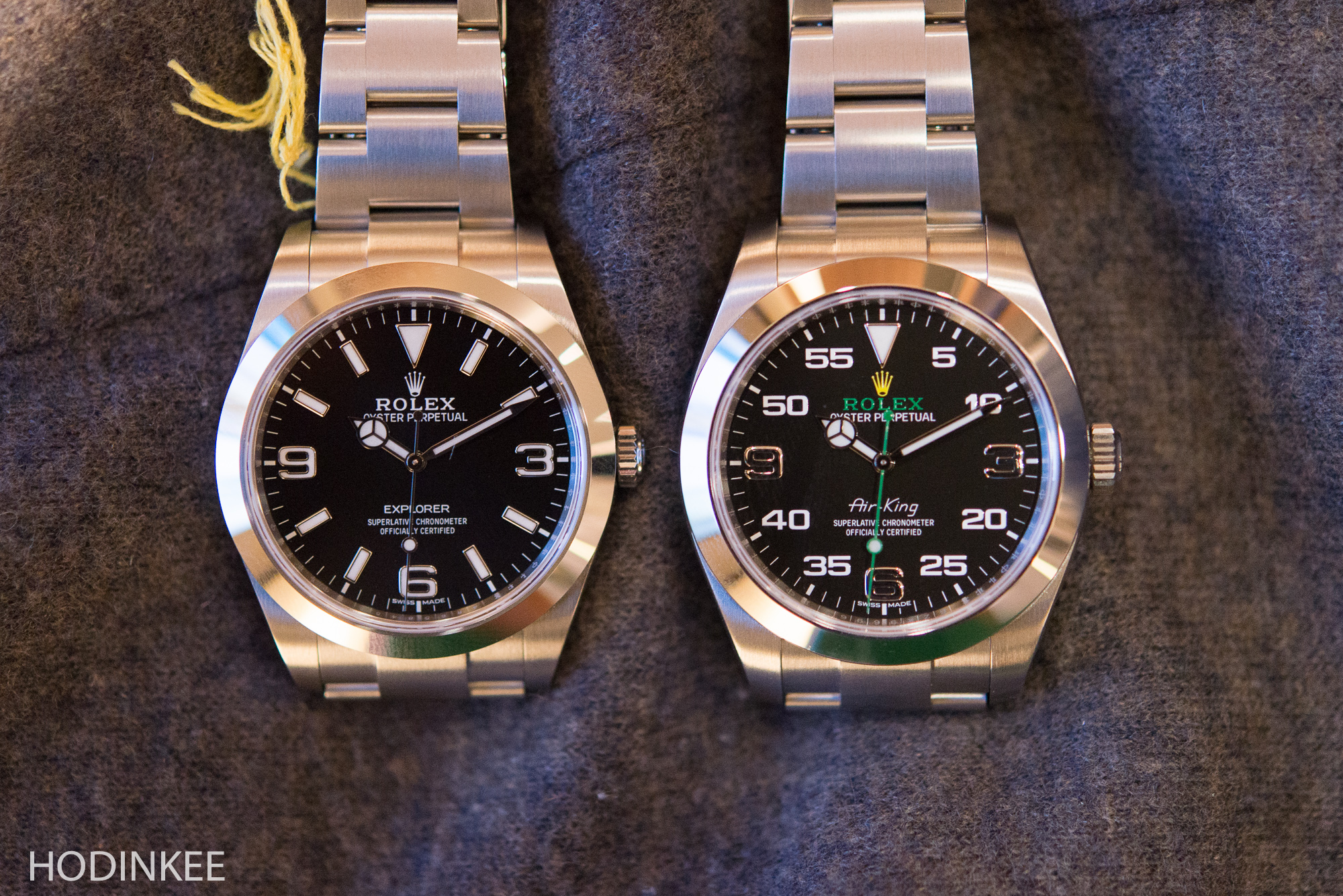 Rolex Explorer Hands On Some Quick Thoughts On The New Rolex Air King Versus The