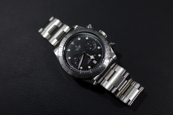 Breaking News Tudor Launches The Black Bay Chronograph